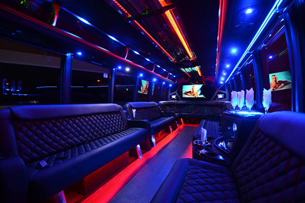 40 Passenger Party Bus Rental Pittsburgh