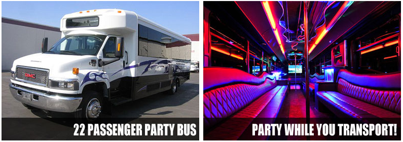 Airport Transportation Party Bus Rentals Pittsburgh